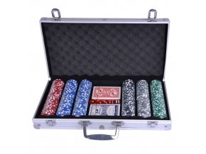 Poker set kufřík 300