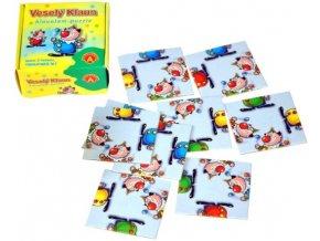 hlavolam puzzle vesely klaun