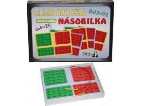 Elektrická hra Násobilka