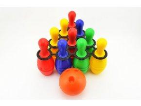 bowling set plast