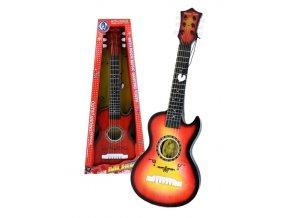 kytara s trsatkem zdobena pro deti