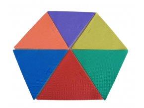 znacka na podlahu trojuhelnik