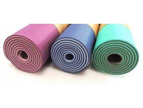 podlozka yoga mat TPE fialovo fialova