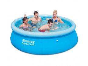 Bazén samostavěcí 244x66 cm