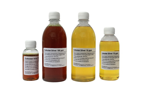 Colloidal silver - Products