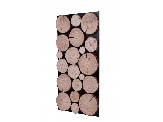 Drevený obklad na stenu- Borovica 2 ks v balení PSDM_076X038X03_NSK2