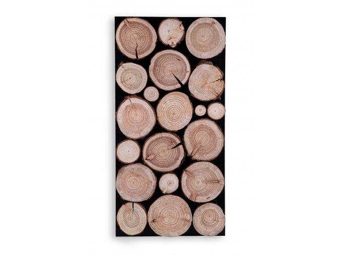 Drevený obklad na stenu- Smrekovec 2 ks v balení PSDM_076X038X03_NMK2