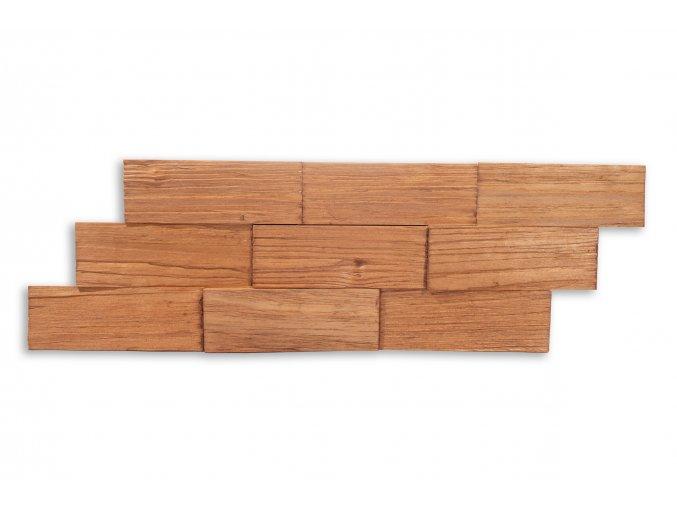 Drevený obklad na stenu- Jelša 4 ks v balení PSDA_640X195X13_OSK4