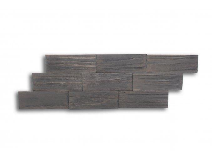 Drevený obklad na stenu- Sivá 4 ks v balení PSDA_640X195X13_GSK4