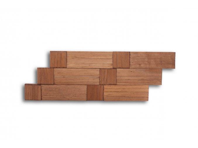 Drevený obklad na stenu- Jelša 4 ks v balení PSDB_640X195X13_OSK4