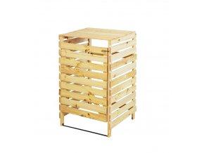 Drevený box na odpadovú nádobu OBK-120L-1-FAREBNÉ VARIANTY
