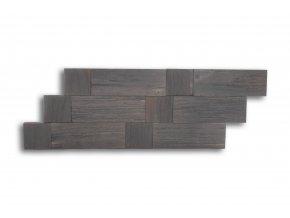 Drevený obklad na stenu- Sivá 4 ks v balení PSDB_640X195X13_GSK4