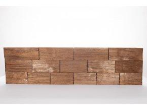 Drevený obklad na stenu- Hnedá 4 ks v balení PSDC_720X195X13_BSK4