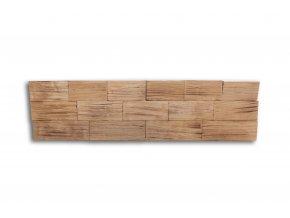 Drevený obklad na stenu- Opálená 4 ks v balení PSDC_720X195X13_FSK4