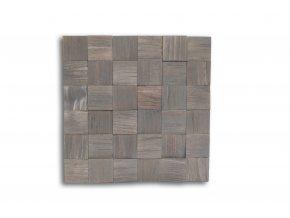 Drevený obklad na stenu- Sivá 4 ks v balení PSDD_392X392X13_GSK4