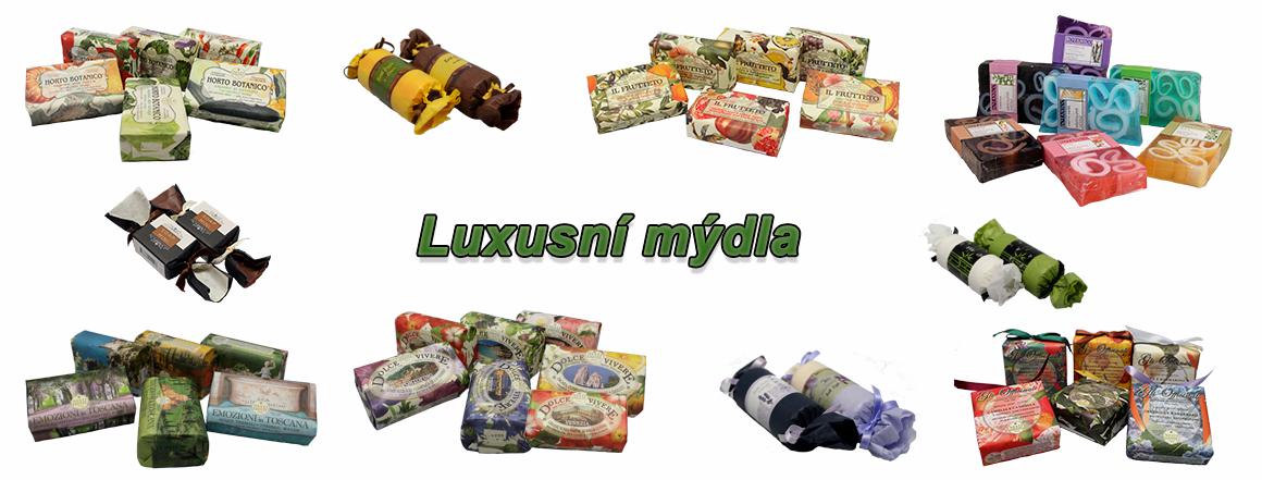 Luxusní mýdla