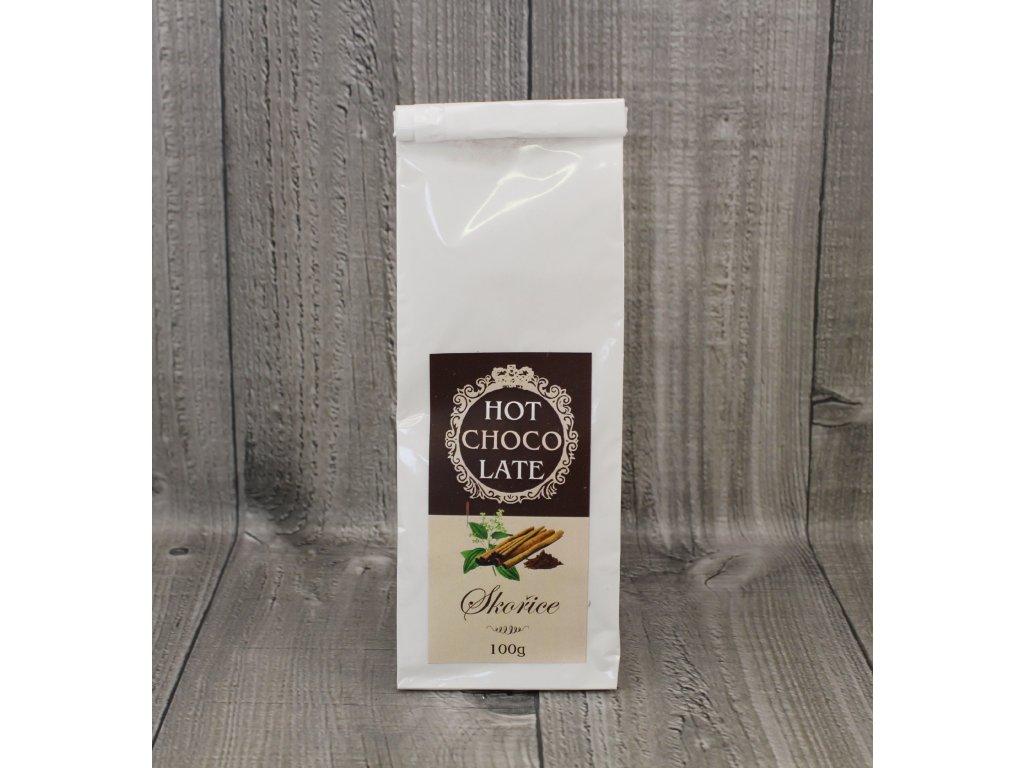 Horká čokoláda skořice 100g