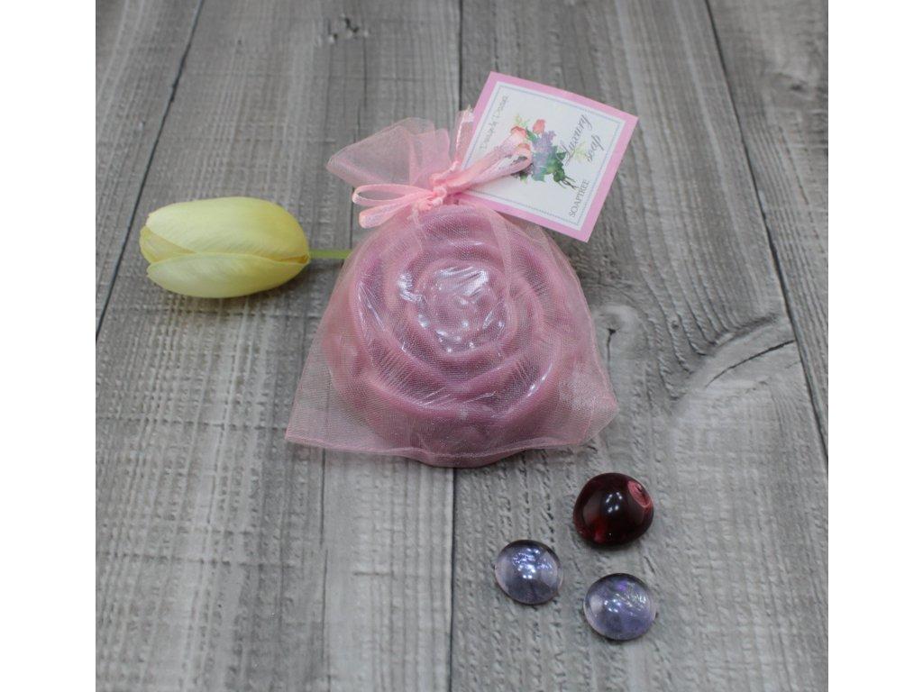 Mýdlo růže šeřík 90g