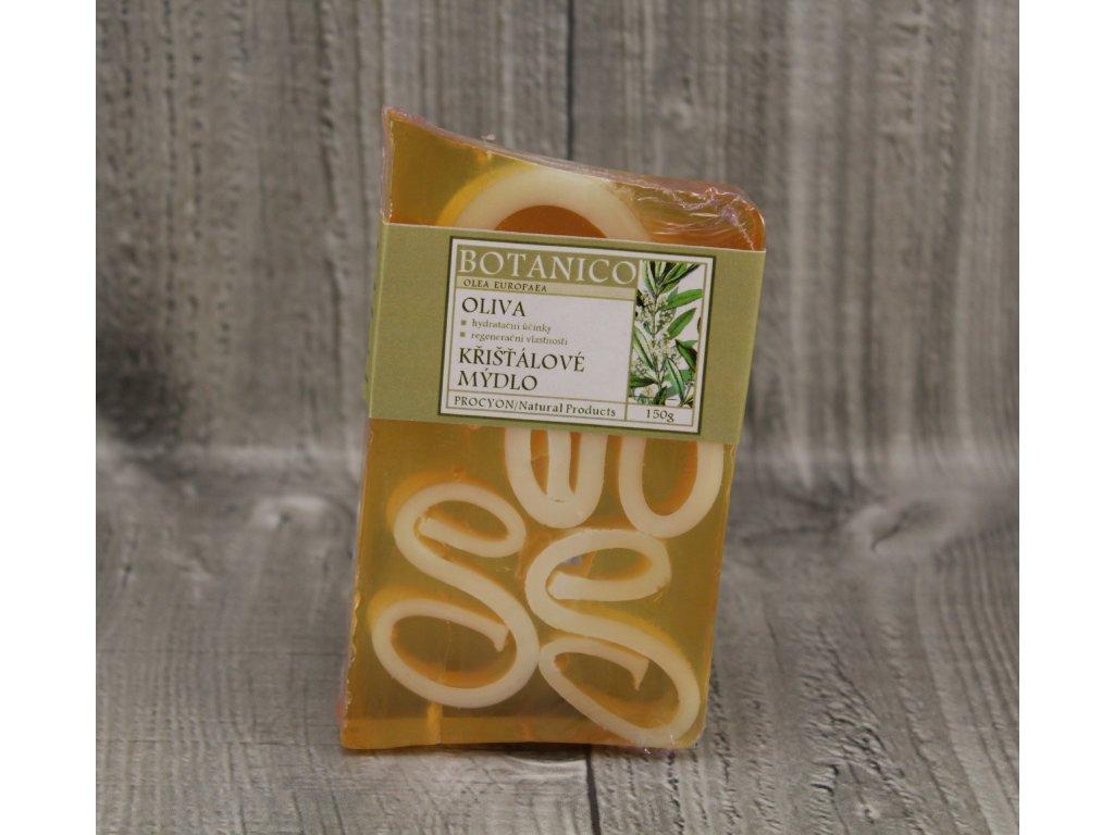 Mýdlo křišťálové oliva