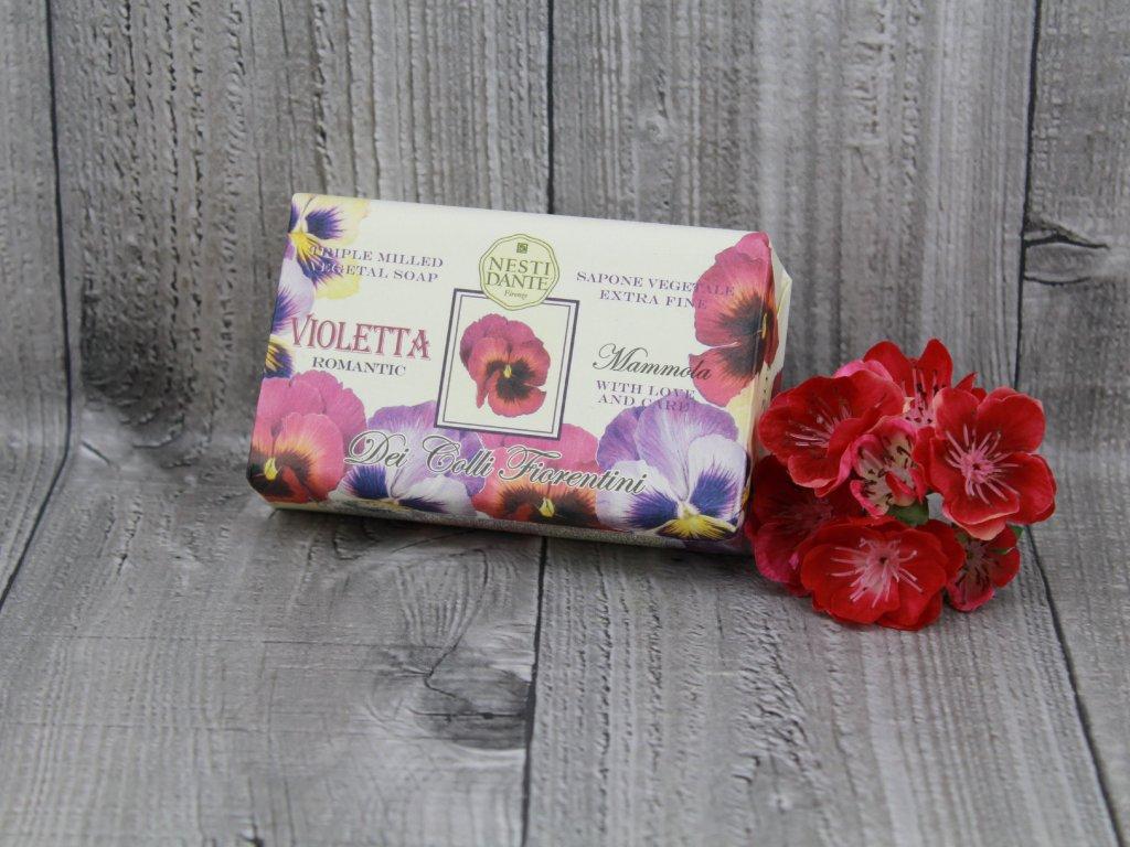 Mýdlo květinové violetta NESTI DANTE