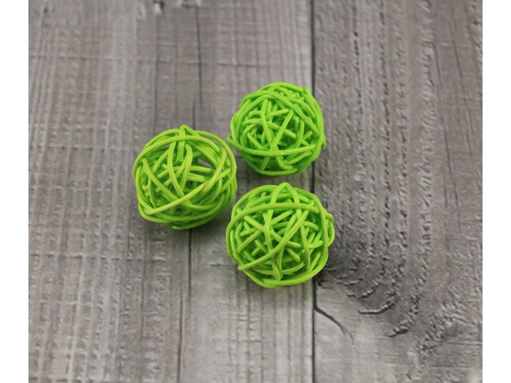 Pedig koule 3 zelená