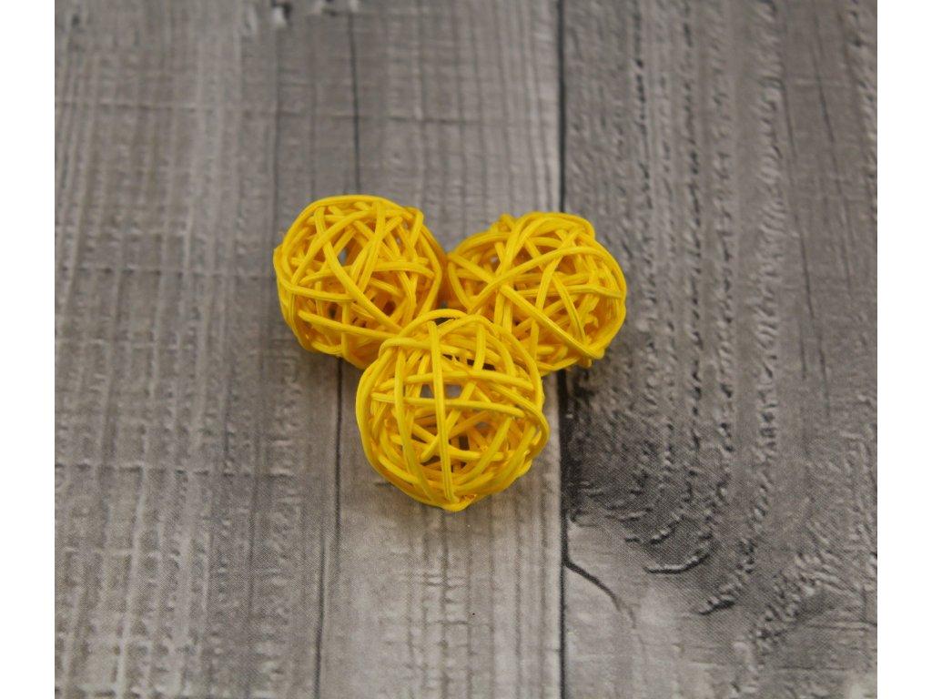 Pedig koule 3 žlutá