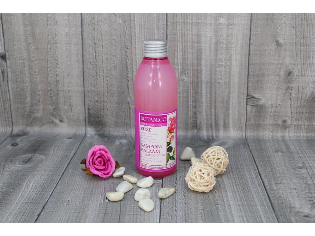 Šampon, růže 200ml