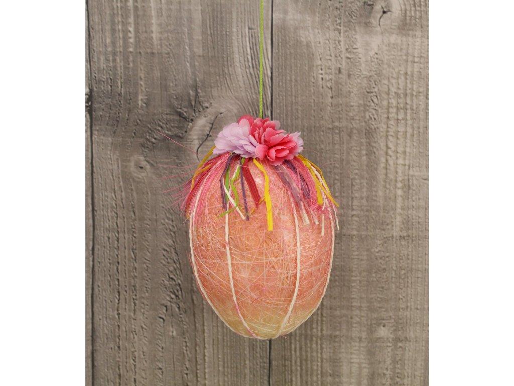Vejce sisalové růžové