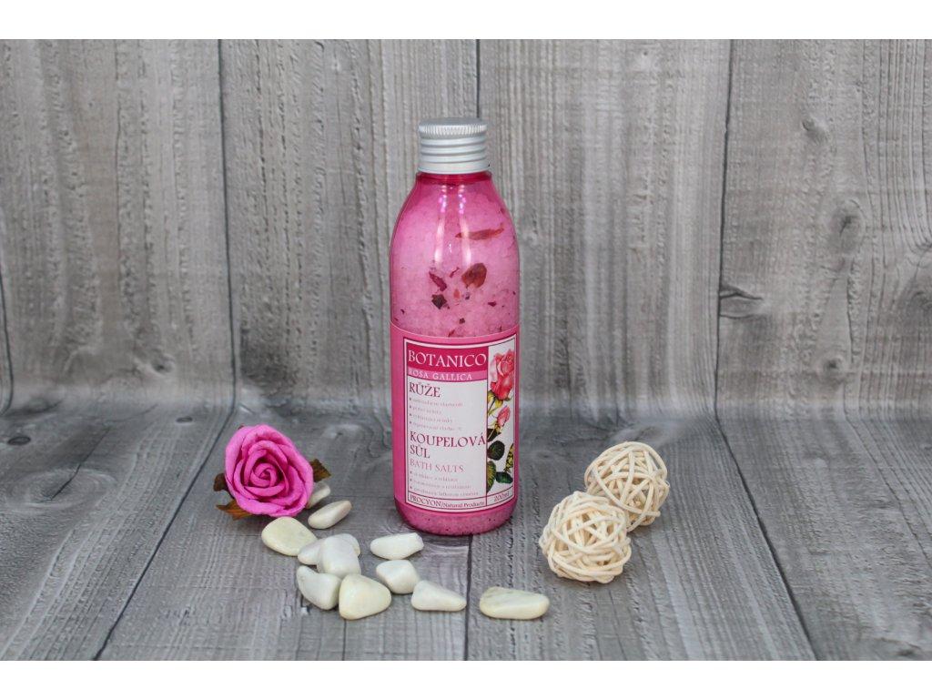 Sůl koupelová růže