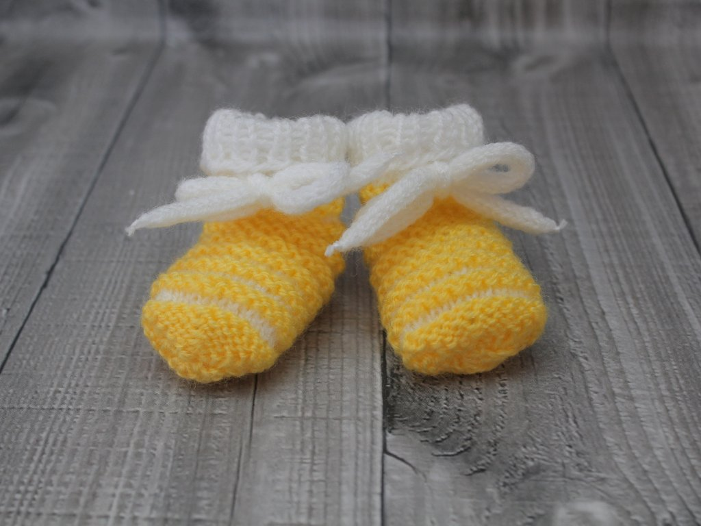 Bačkůrky mimi dvoubarevné žluté