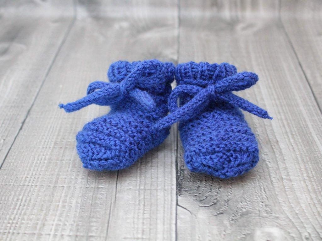 Bačkůrky mimi jednobarevné modré tmavé