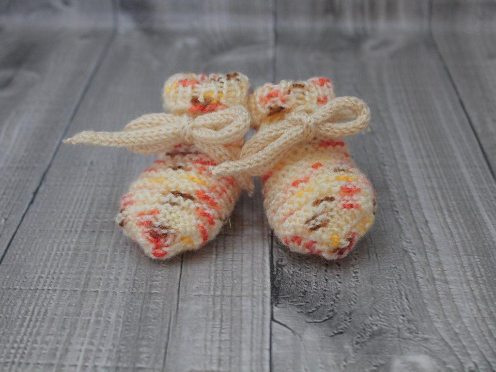 Bačkůrky mimiBačkůrky mimi strakaté žluté