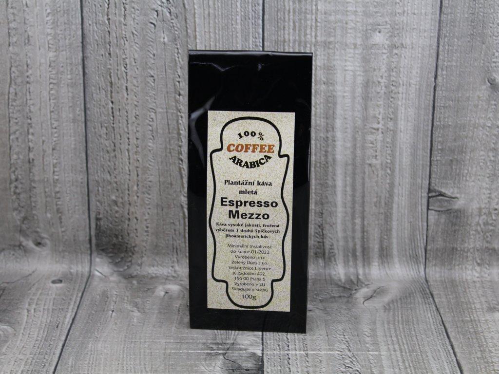 Káva espresso mezzo 100g