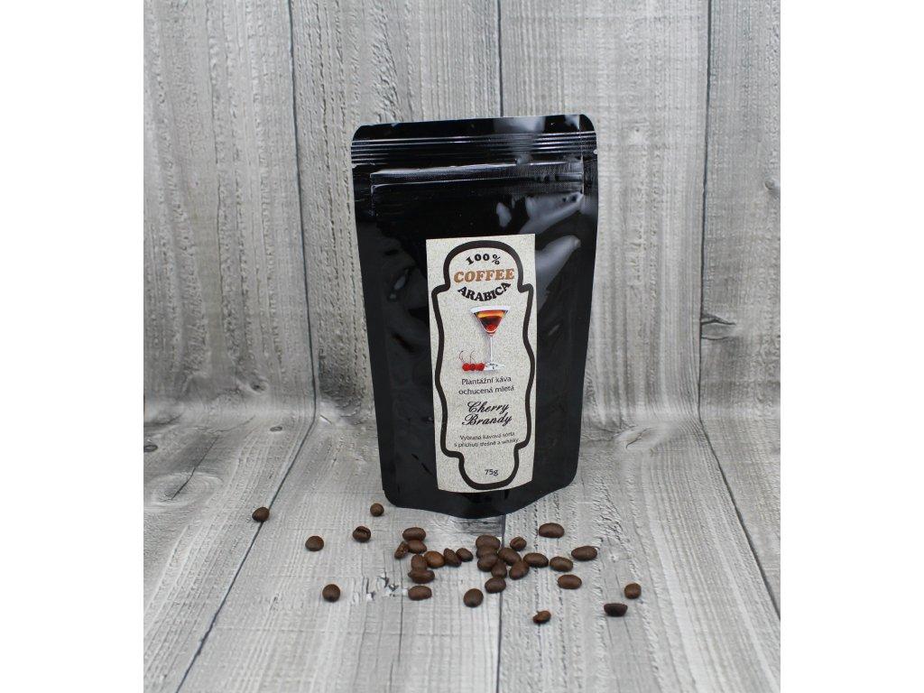 Káva cherry brandy 70g