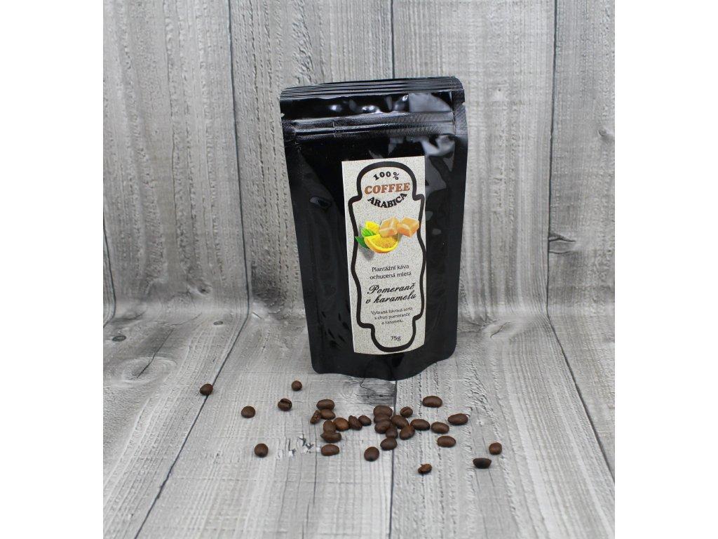 Káva pomeranč v karamelu 70g