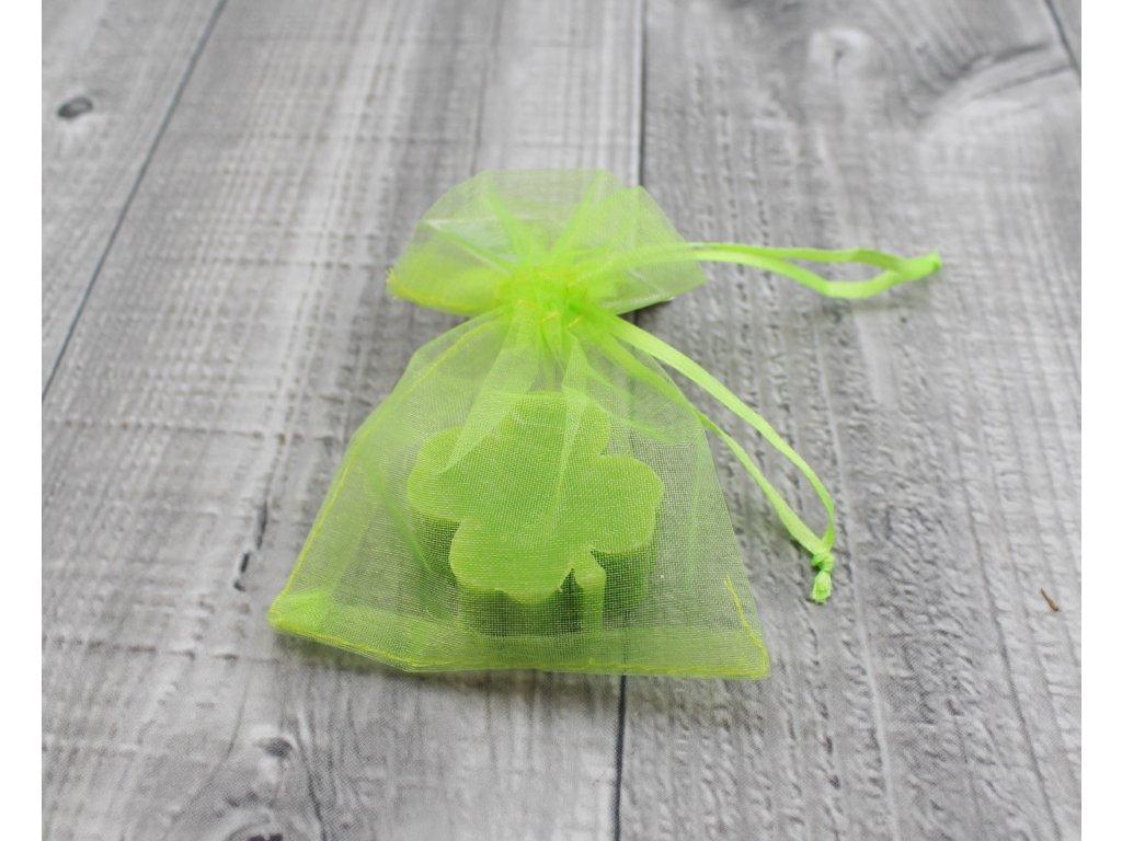 Mini mýdlo čtyřlístek zelený 20g