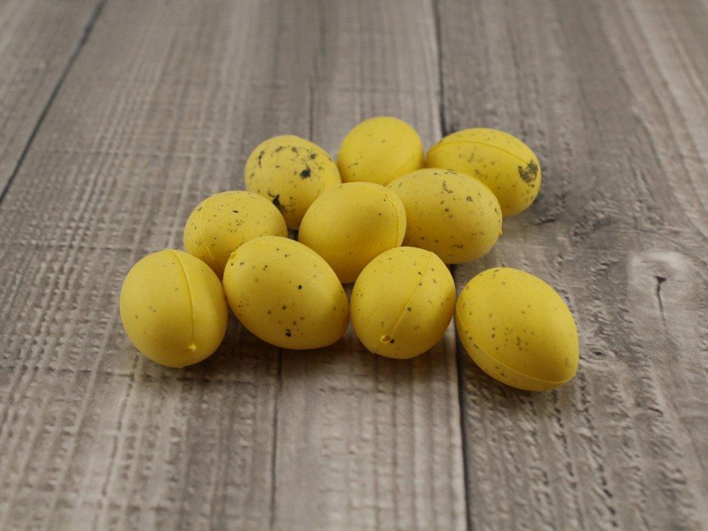 Vajíčko plastové střední žluté
