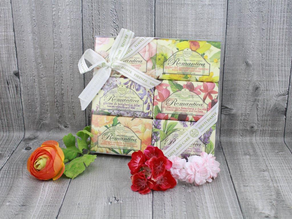 Mýdla dárková kazeta NESTI DANTE ROMANTICA