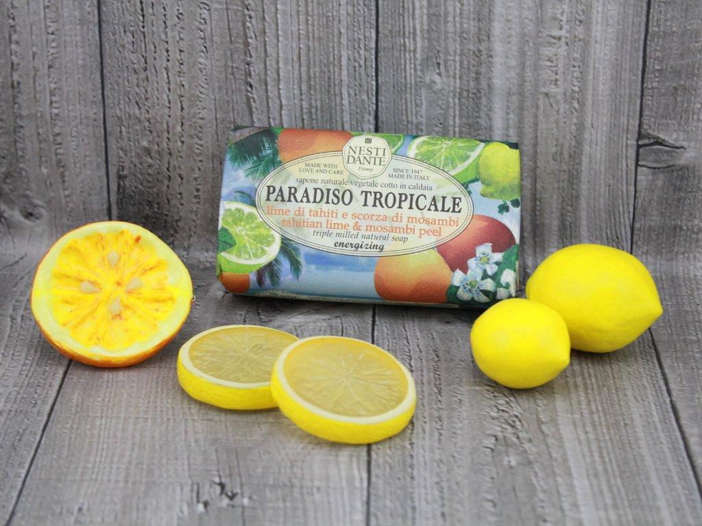 Mýdlo PARADISO TROPICALE limetka
