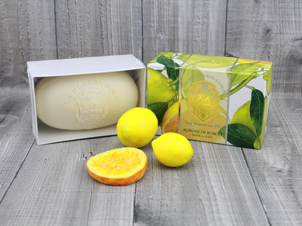 Mýdlo LA FLORENTINA 300g agrumi di boboli