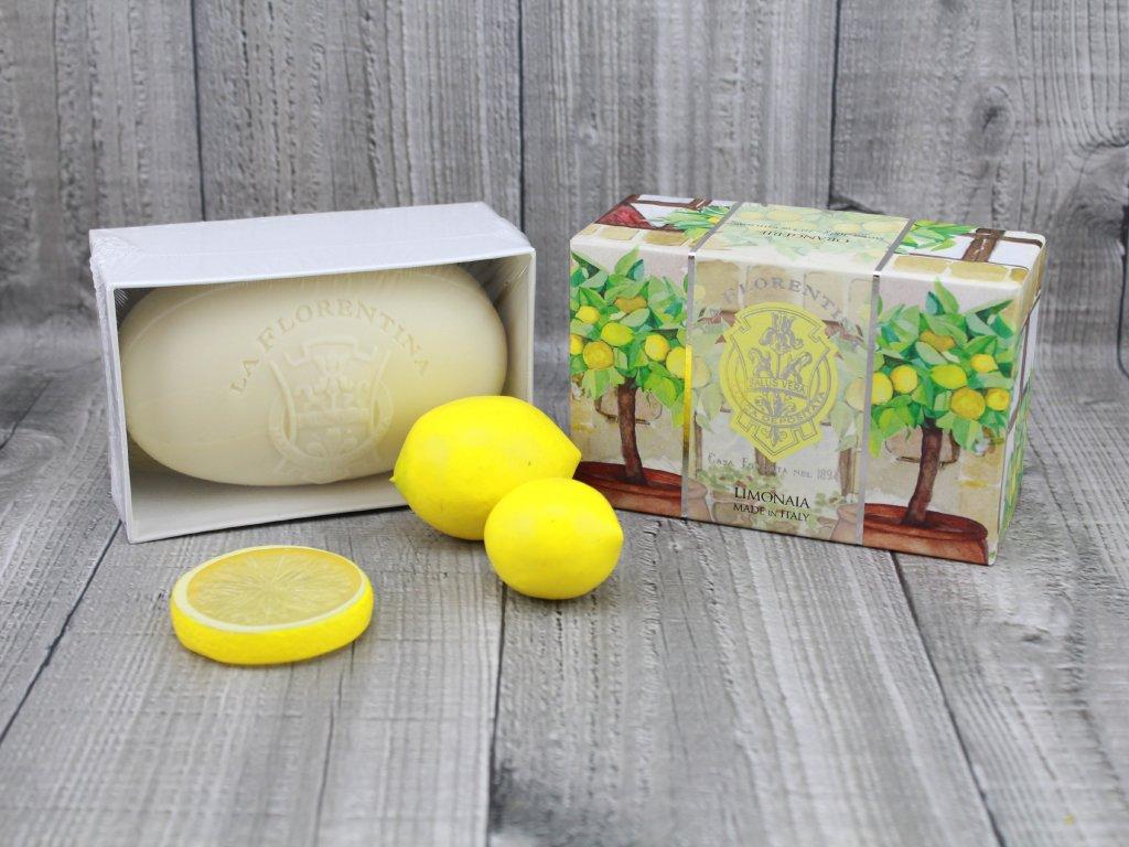 Mýdlo LA FLORENTINA 300g lemon