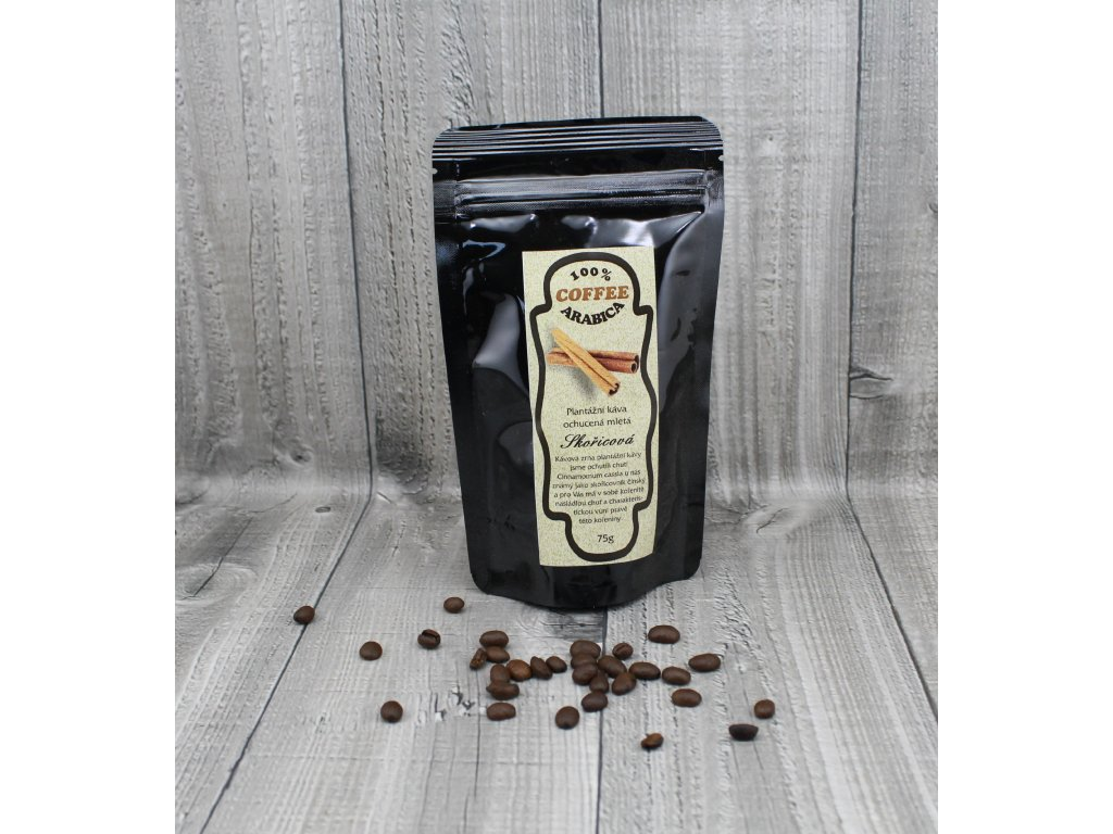 Káva skořicová 70g