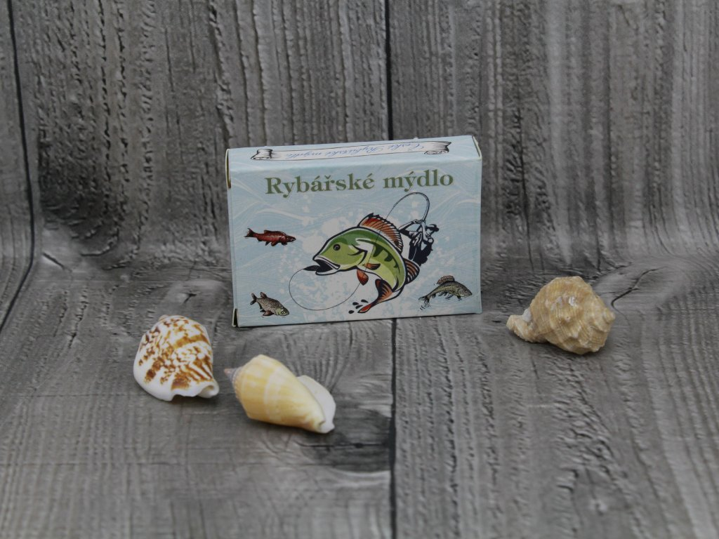 Mýdlo přírodní 40g rybářské mýdlo
