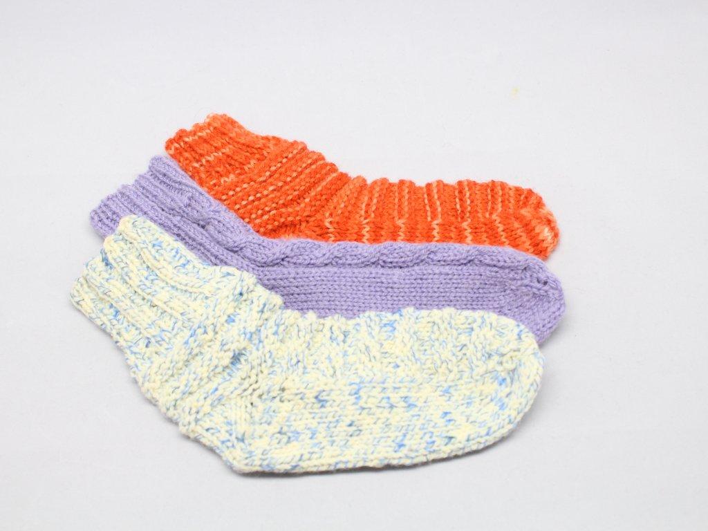 Ponožky pletené 30/32