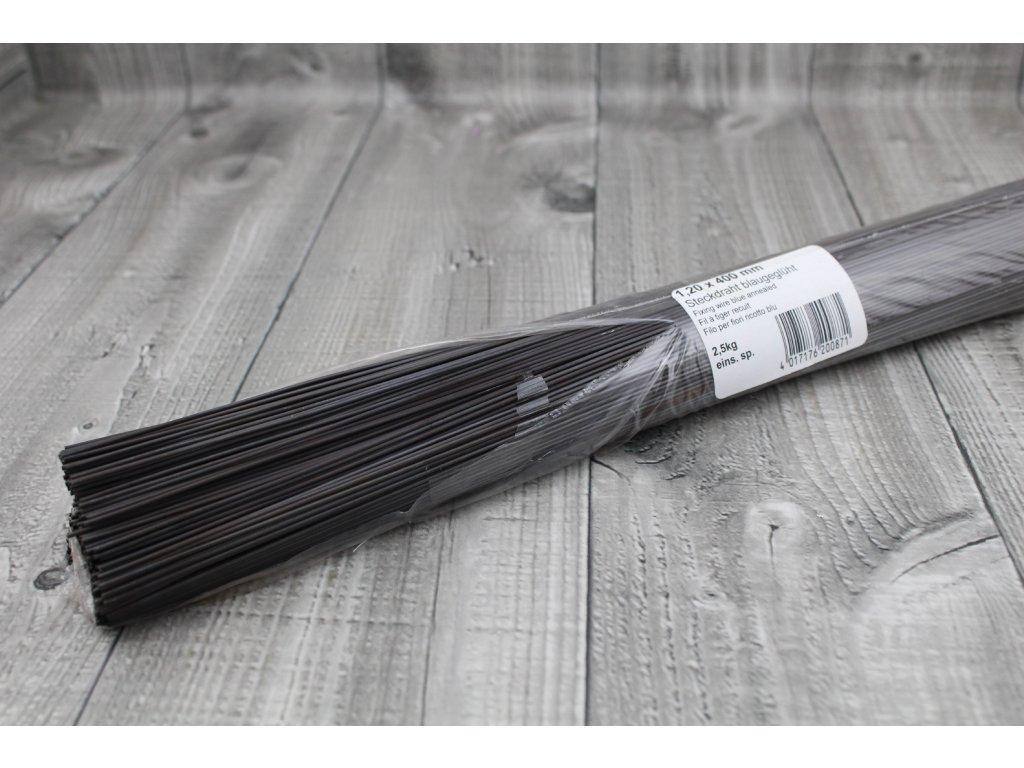 Dráty sekané černé 1,2mm