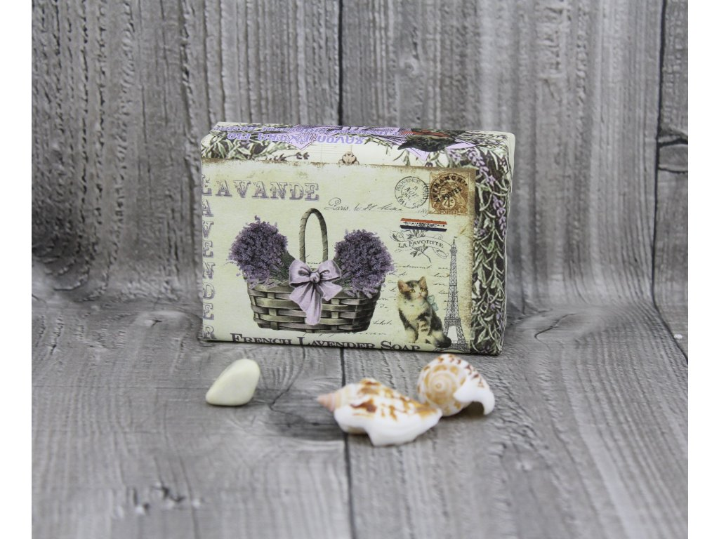 Mýdlo přírodní 200g French lavender