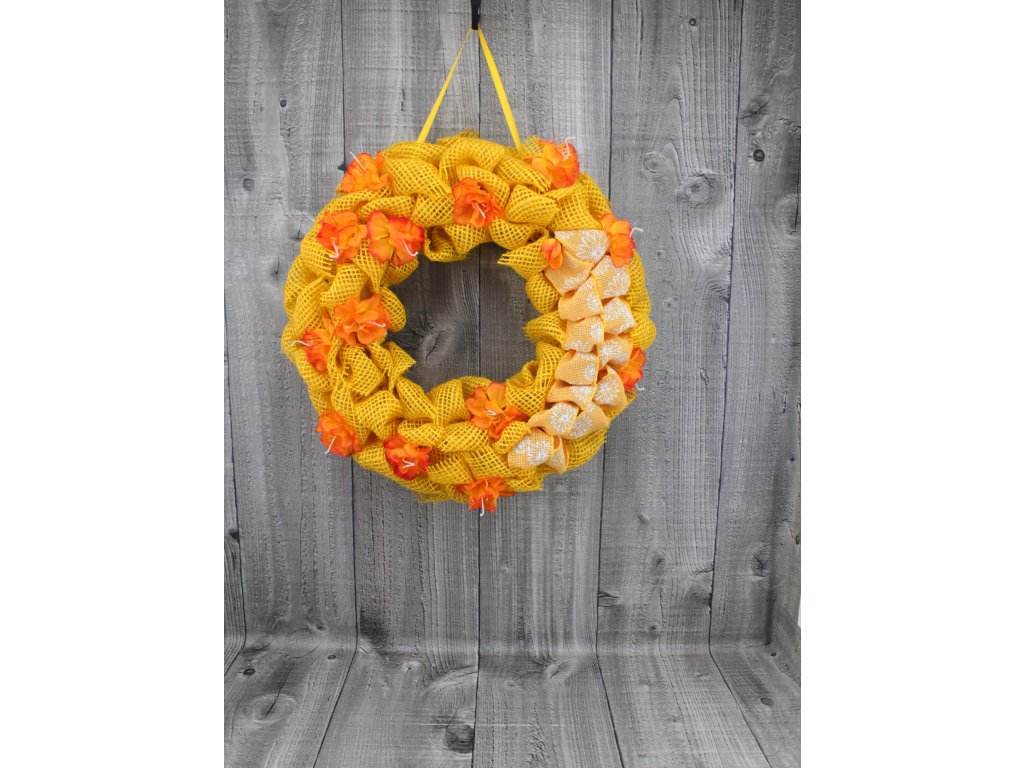 Věneček velikonoční žlutý