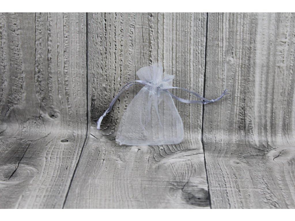 Sáček šifon-šedý