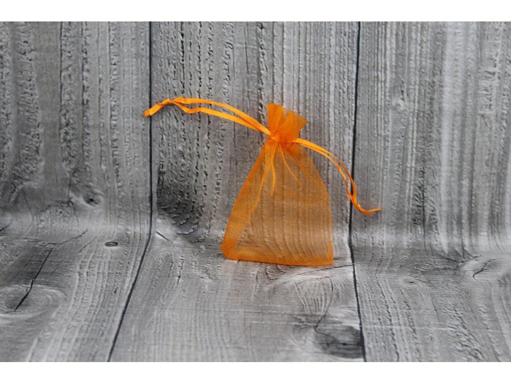 Sáček šifon-oranžový