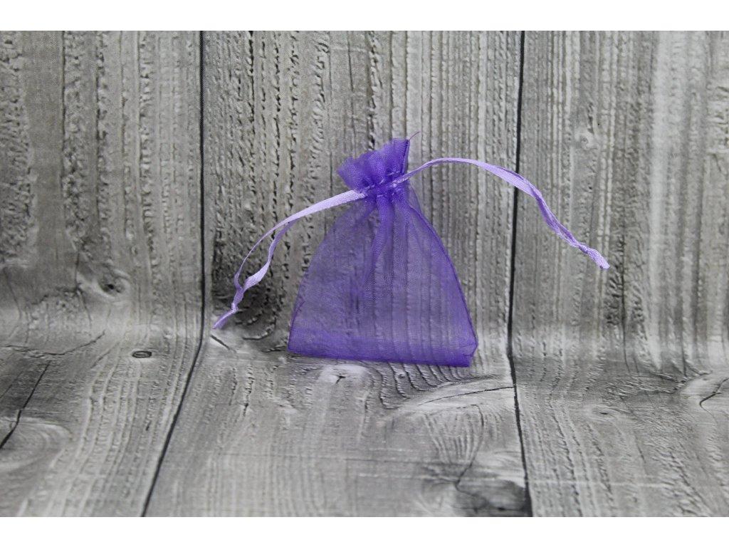 Sáček šifon-fialový